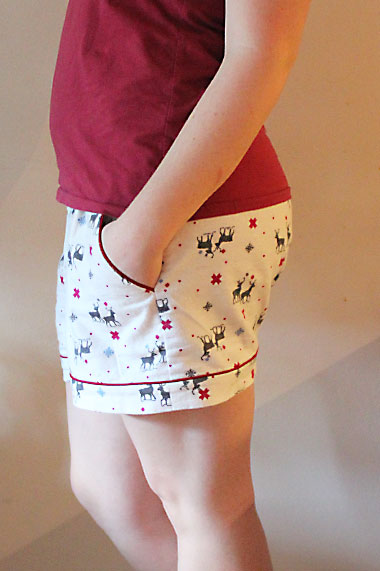 Closet Case Files Carolyn Pajama Shorts by Helen's Closet