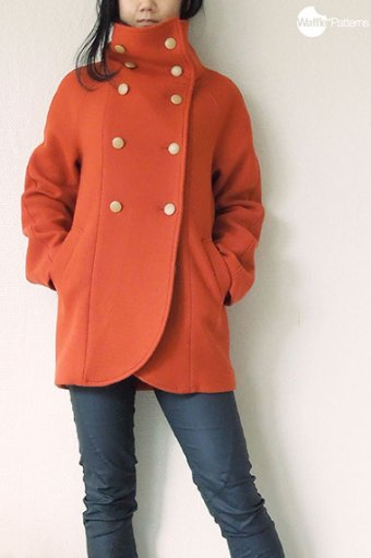 Yuzu Coat by Waffle Patterns