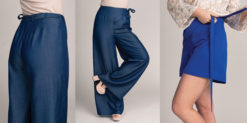 Named Clothing Astrid Wrap Pants
