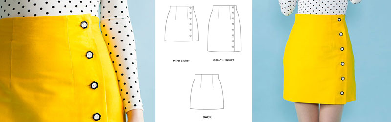 Arielle Skirt by Tilly and the Buttons