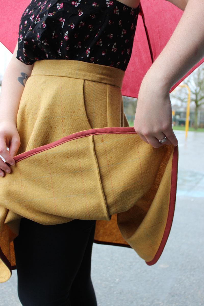 Wool Sewaholic Hollyburn Skirt by Helen's Closet