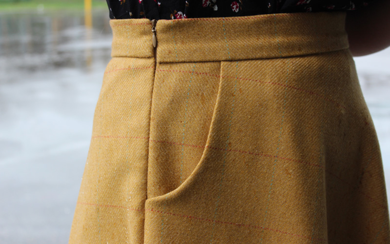 Wool Sewaholic Hollyburn Skirt by Helen's Closet