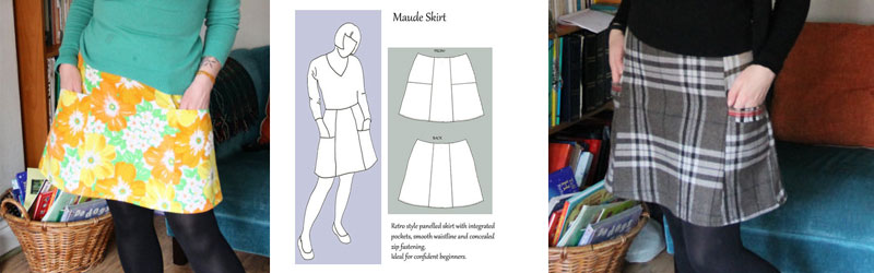 Maude Skirt by the Lazy Seamstress
