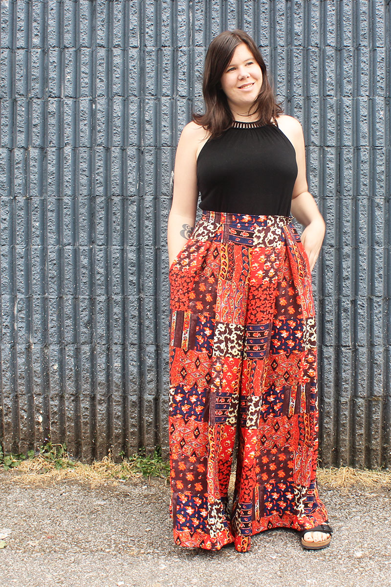 Winslow Culottes View D by Helen's Closet
