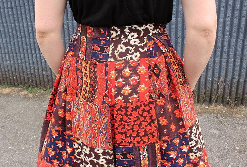 Winslow Culottes View D by Helen's Closet