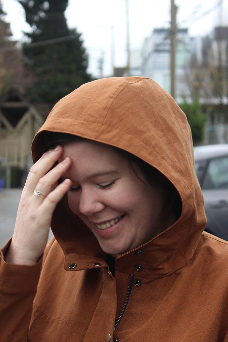 Kelly Anorak Hood