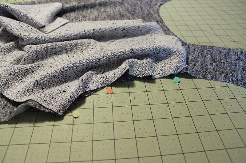 How to sew a sleeve in flat