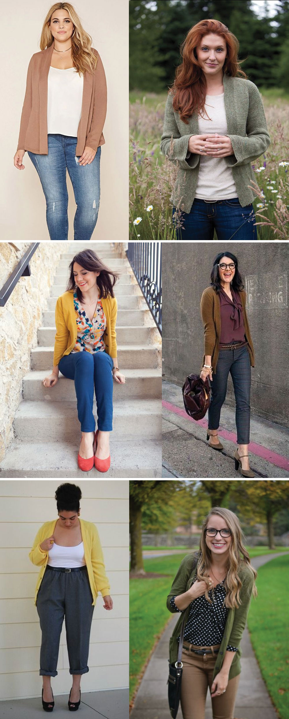 Blackwood Cardigan Inspiration