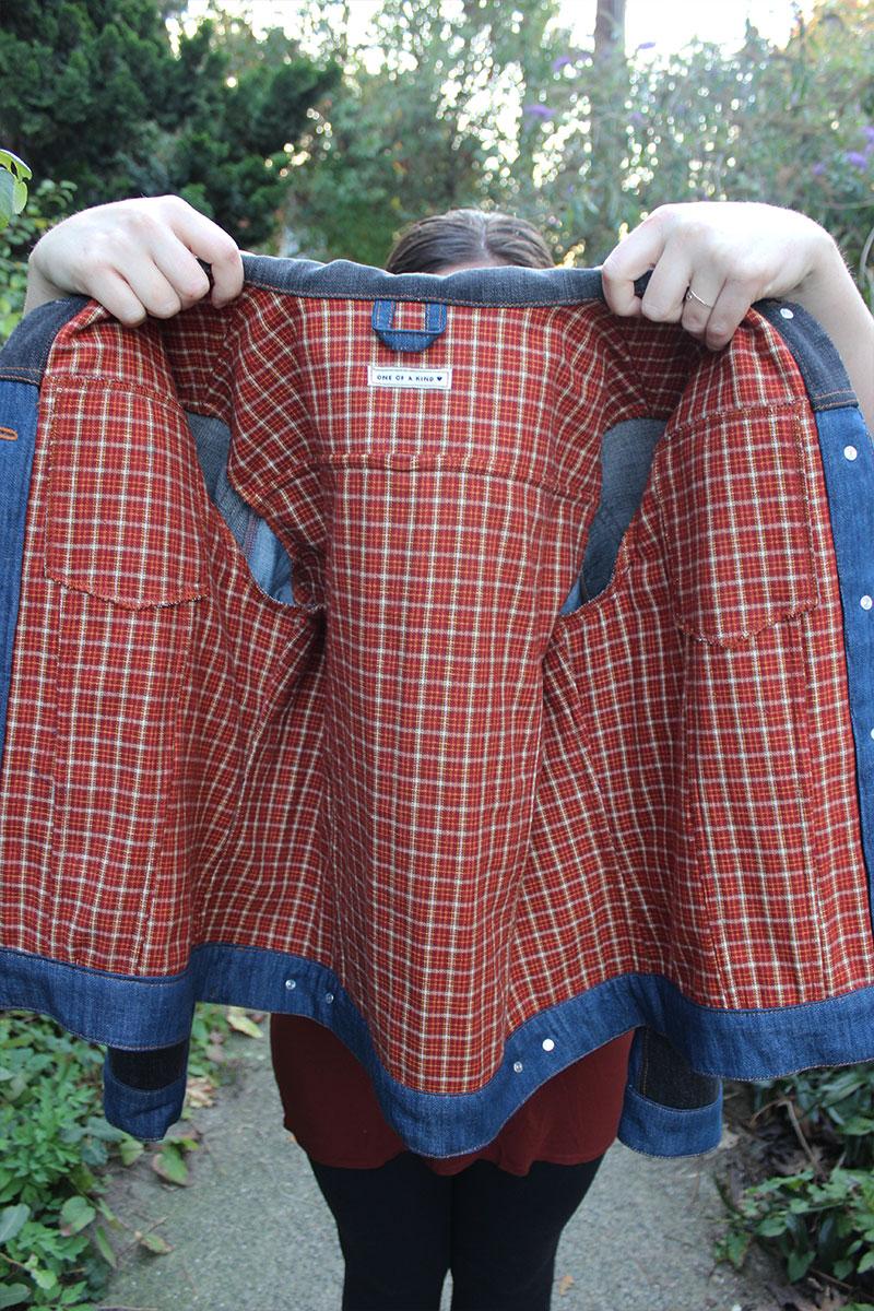 Flannel Underlined Hampton Jacket