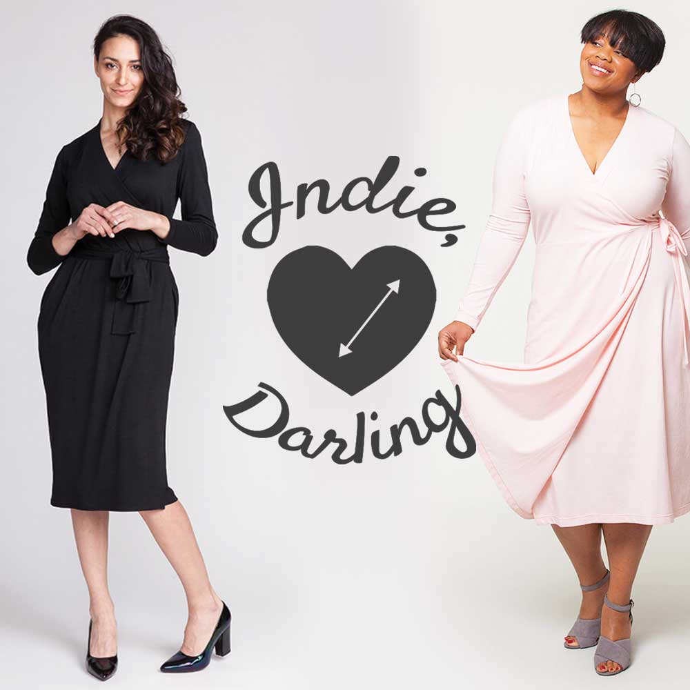 Indie Darling Best Wrap Dress Patterns Helen S Closet