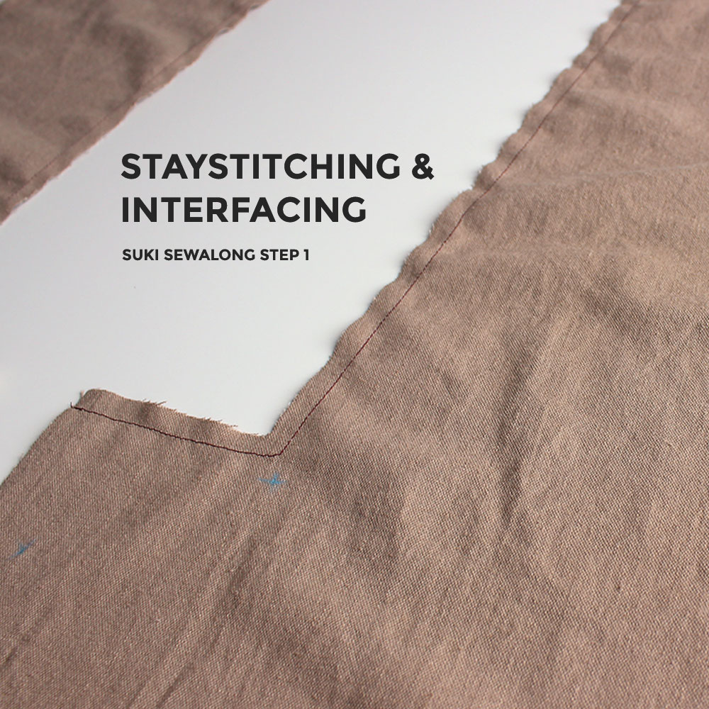 1d6c61b36657b Suki Sewalong  Staystitching   Interfacing – Helen s Closet