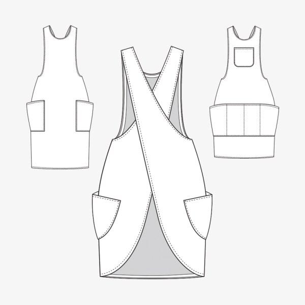 York Apron PDF Pattern by Helen's Closet