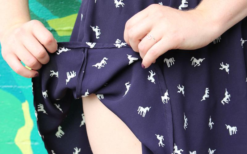 Unicorn Culottes by Helen's Closet