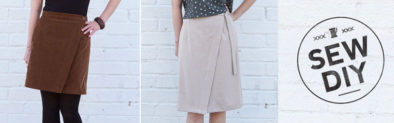 Nita Wrap Skirt by Sew DIY