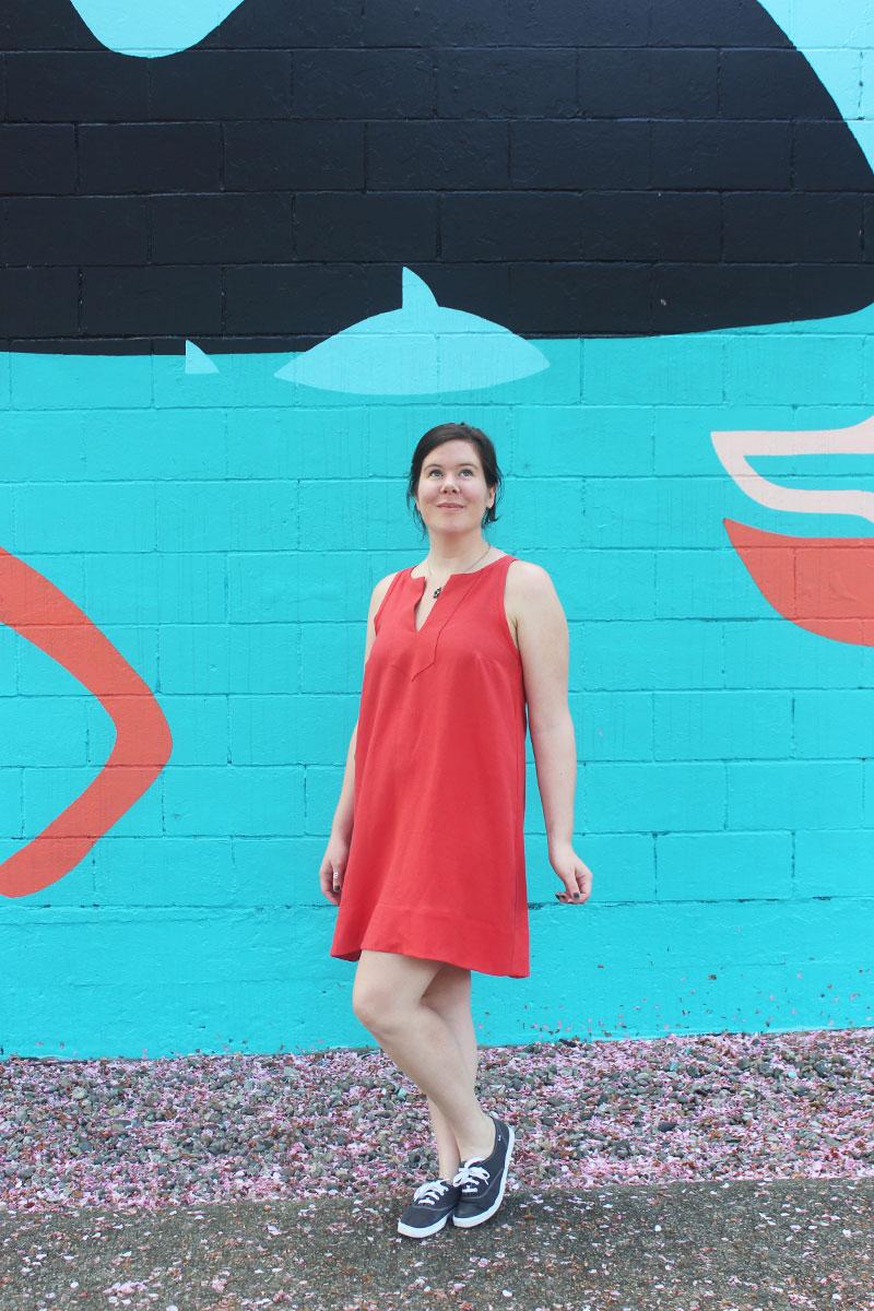 True Bias Colfax Dress by Helen's Clsoet
