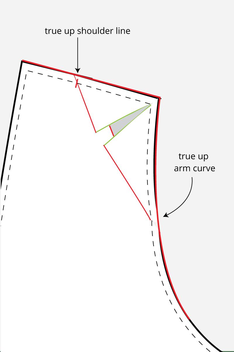 How to do a narrow shoulder adjustment