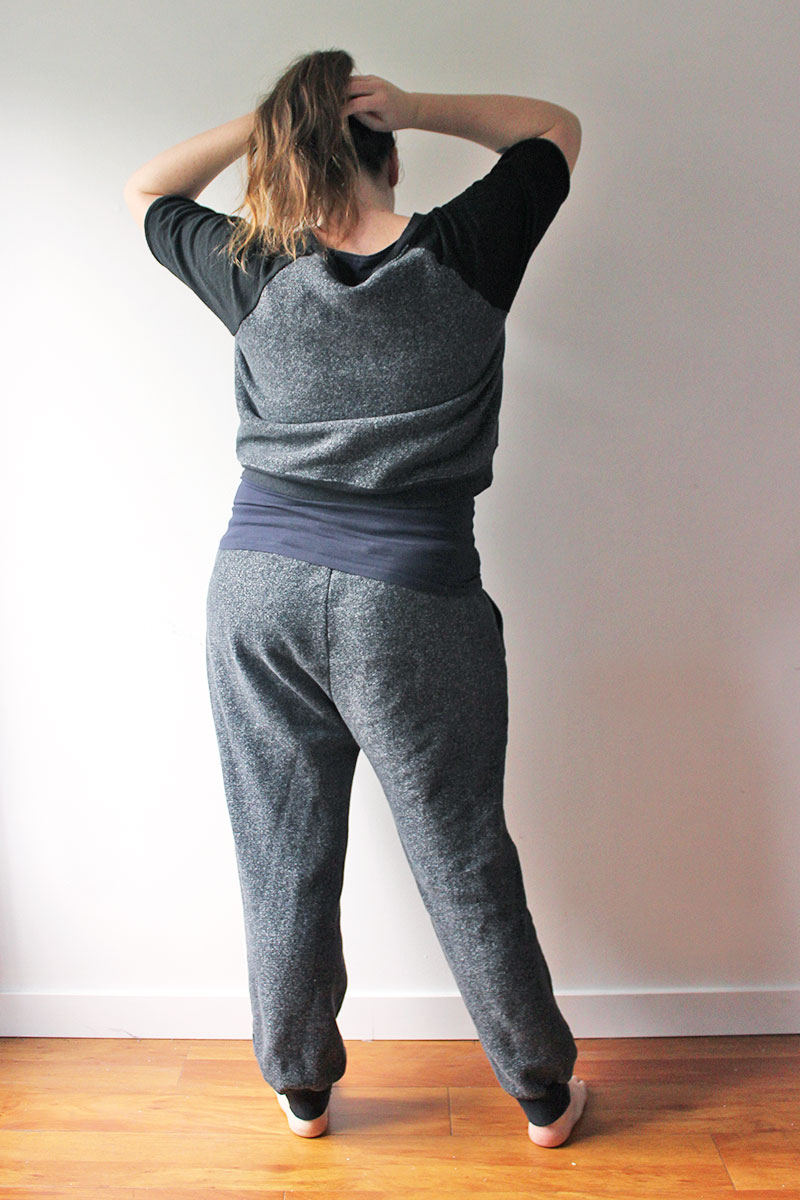 Hudson pants and Linden Sweatshirt