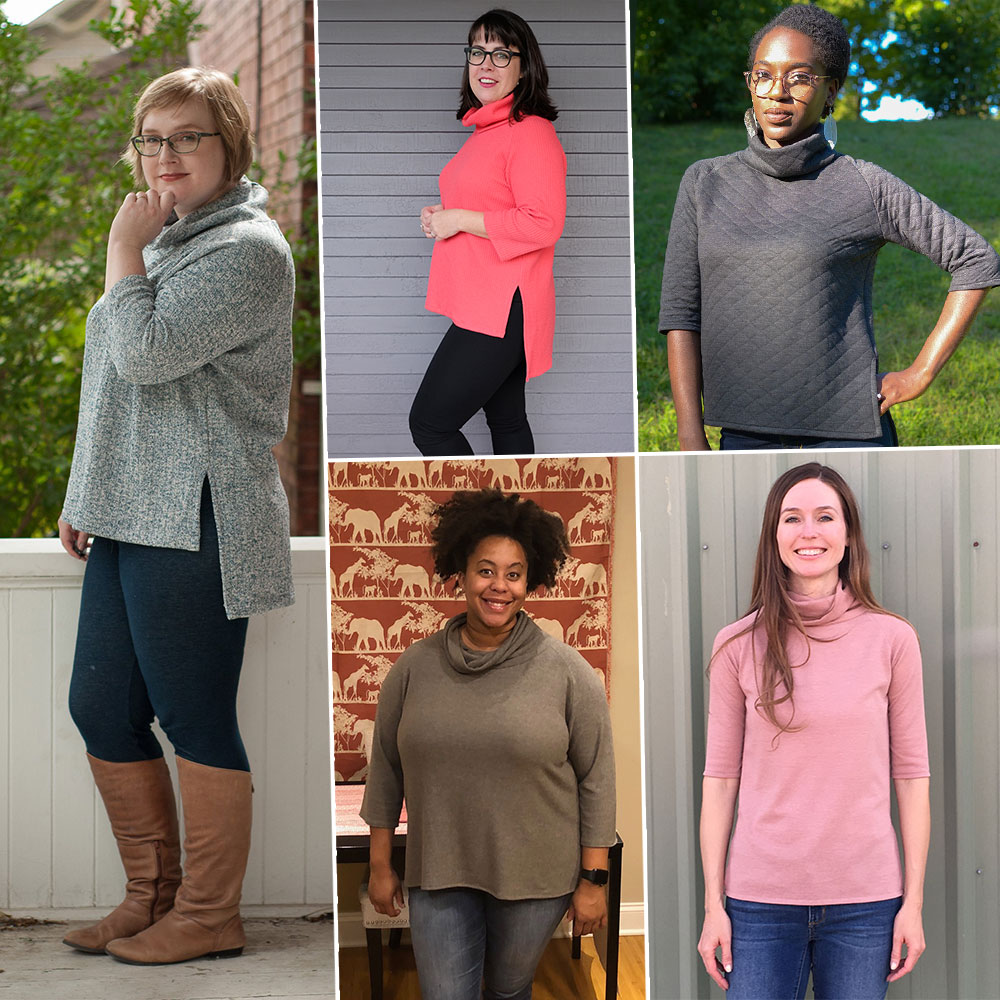 Elliot Sweater and Tee Tester Roundup » Helen's Closet Patterns