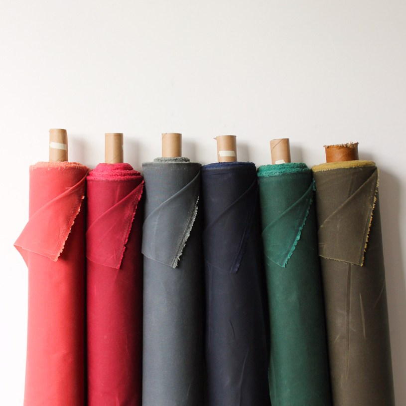 Waxed Canvas Blackbird Fabrics
