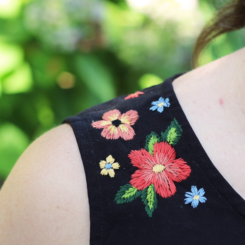 Embroidered Ashton Top Helen's Closet