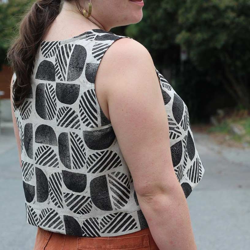 Block Printed Ashton Top