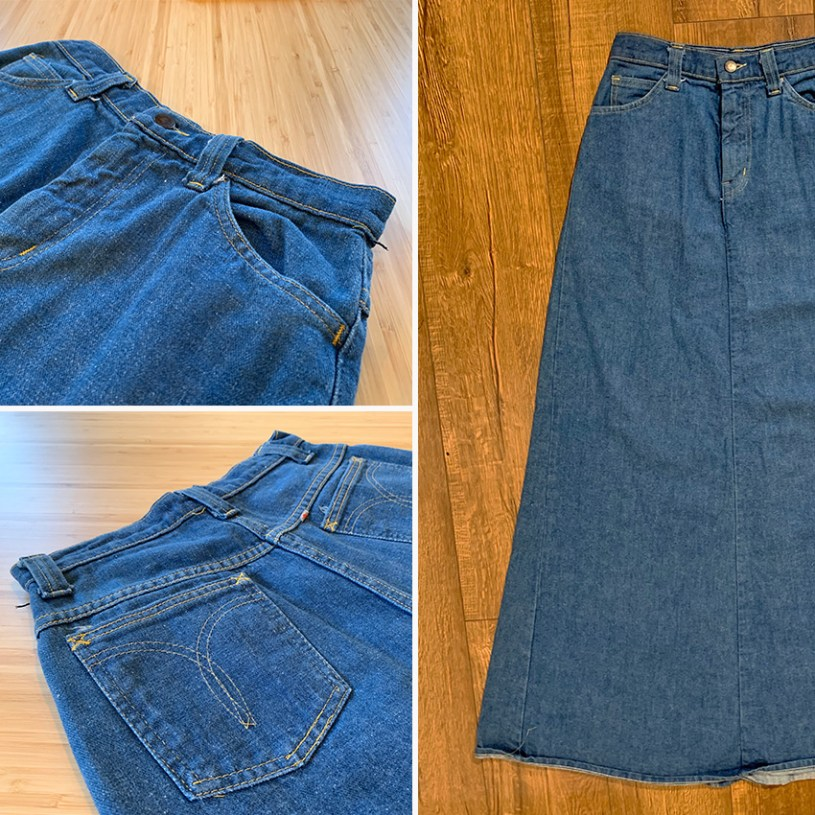 Original Denim Skirt