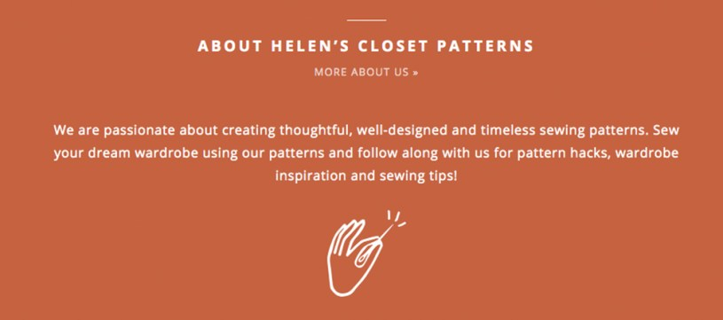 About Helen's Closet Patterns