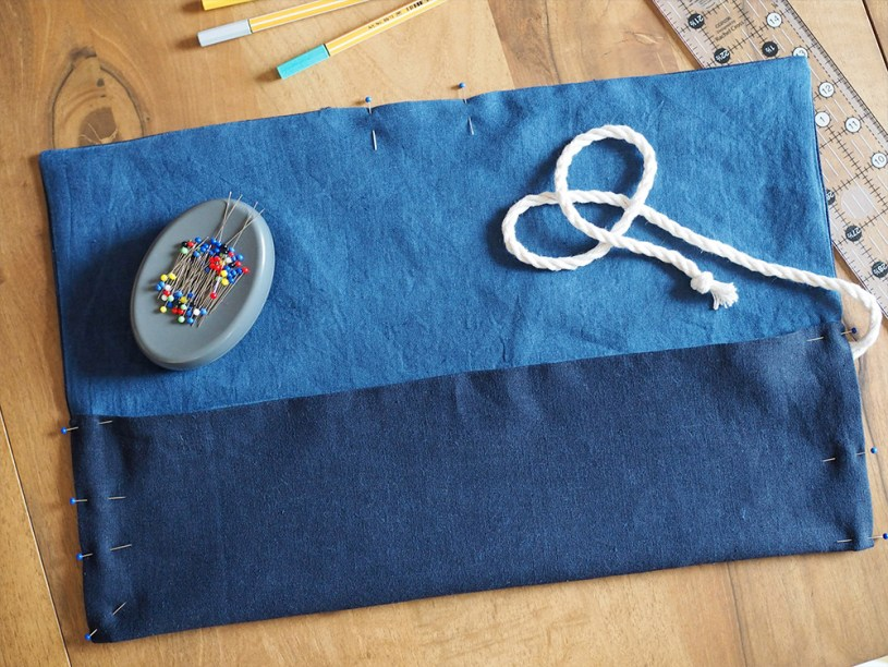 DIY Roll-up Pencil Case Scrap Busting Project