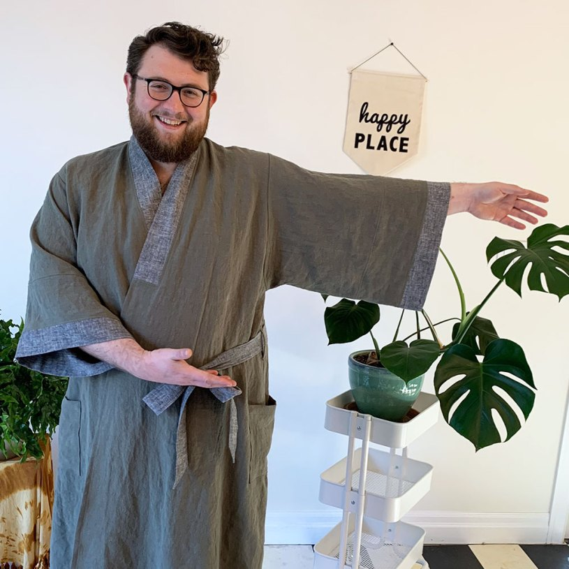 Suki Robe for a man