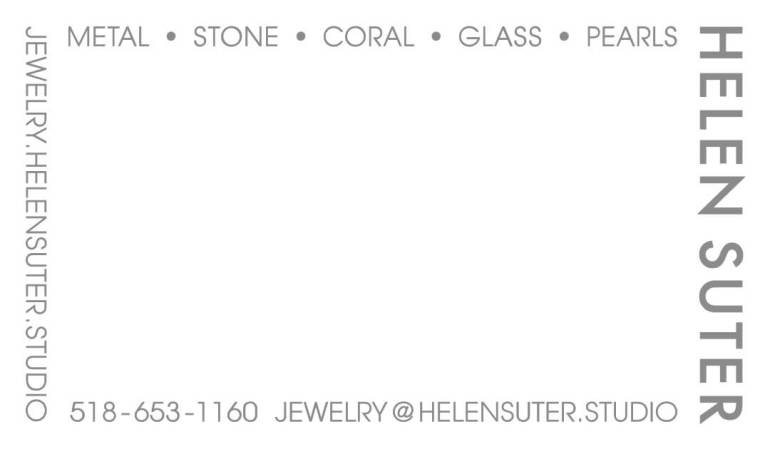 Helen Suter Jewelry - Business Card v5 6-2
