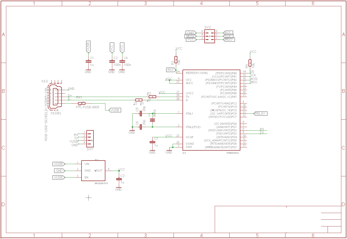Getting Started With Atmega8u2 And Other Avr Usb