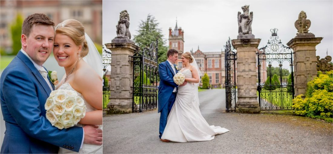 Crewe Hall Wedding Photography - Natural Portraits