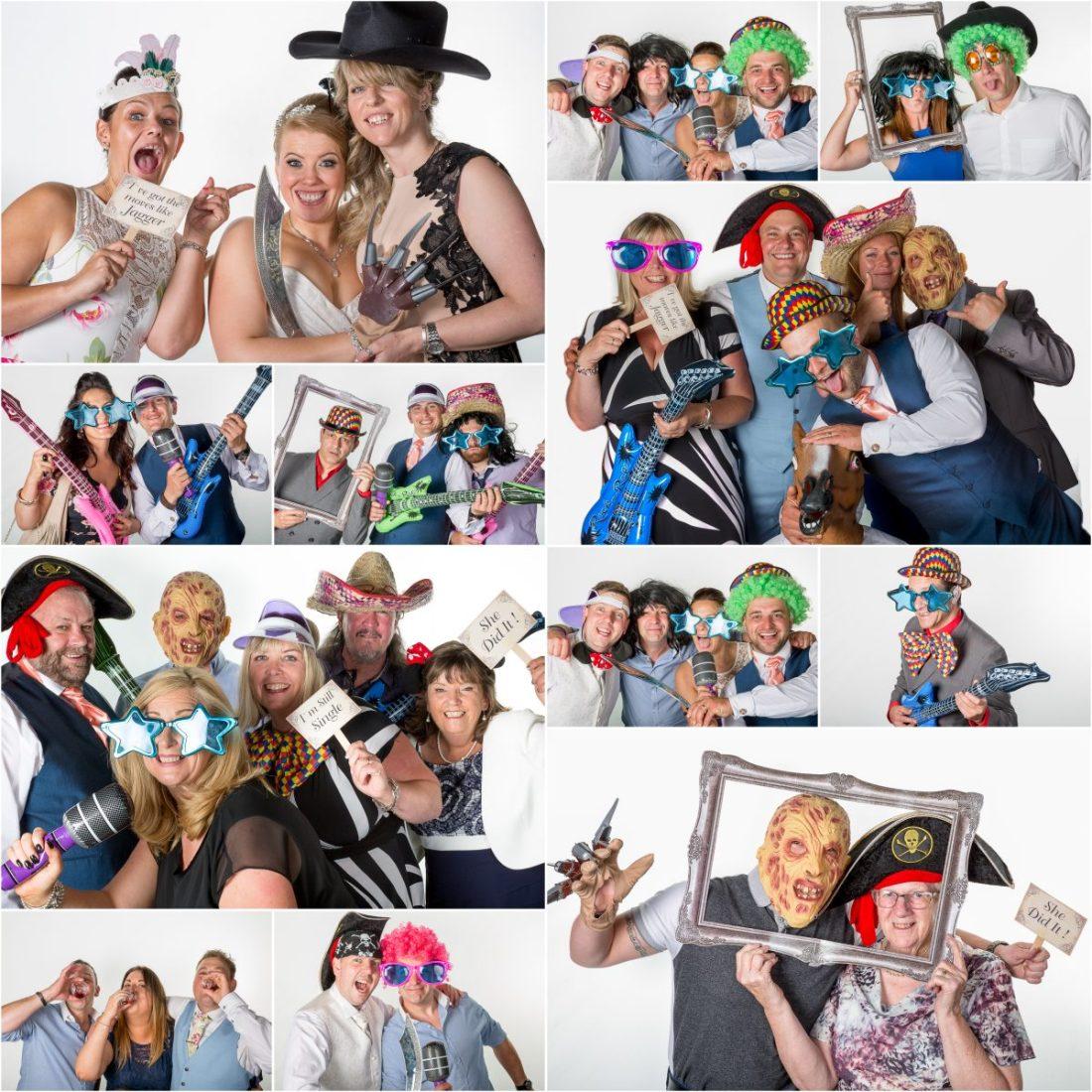 Crewe Hall Wedding Photography Photobooth