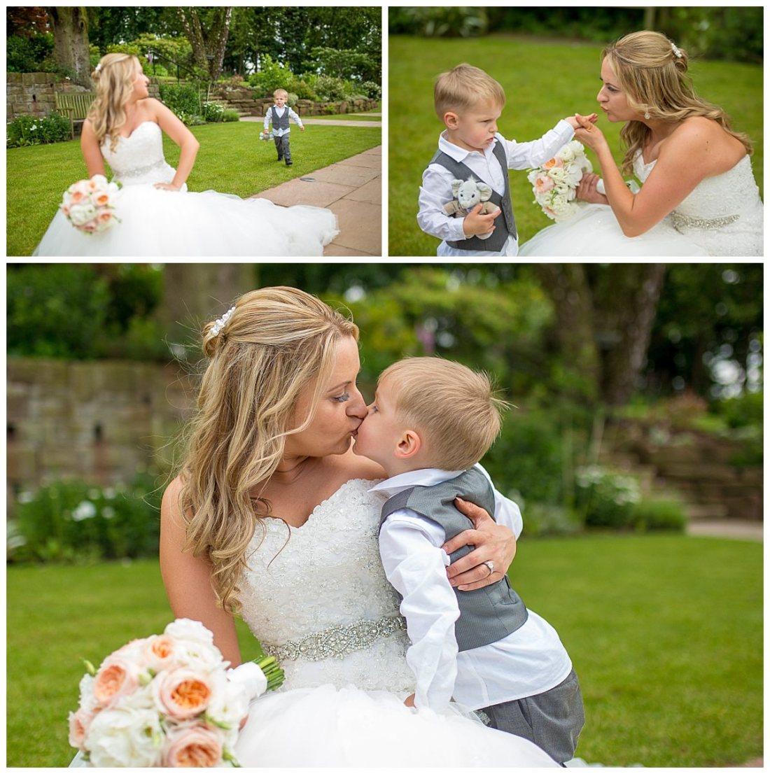 Natural Wedding Photography - Mother and Son