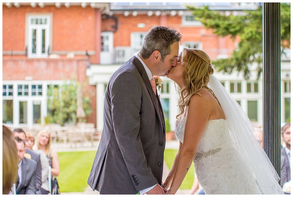 First Kiss at The Upper House Barlaston