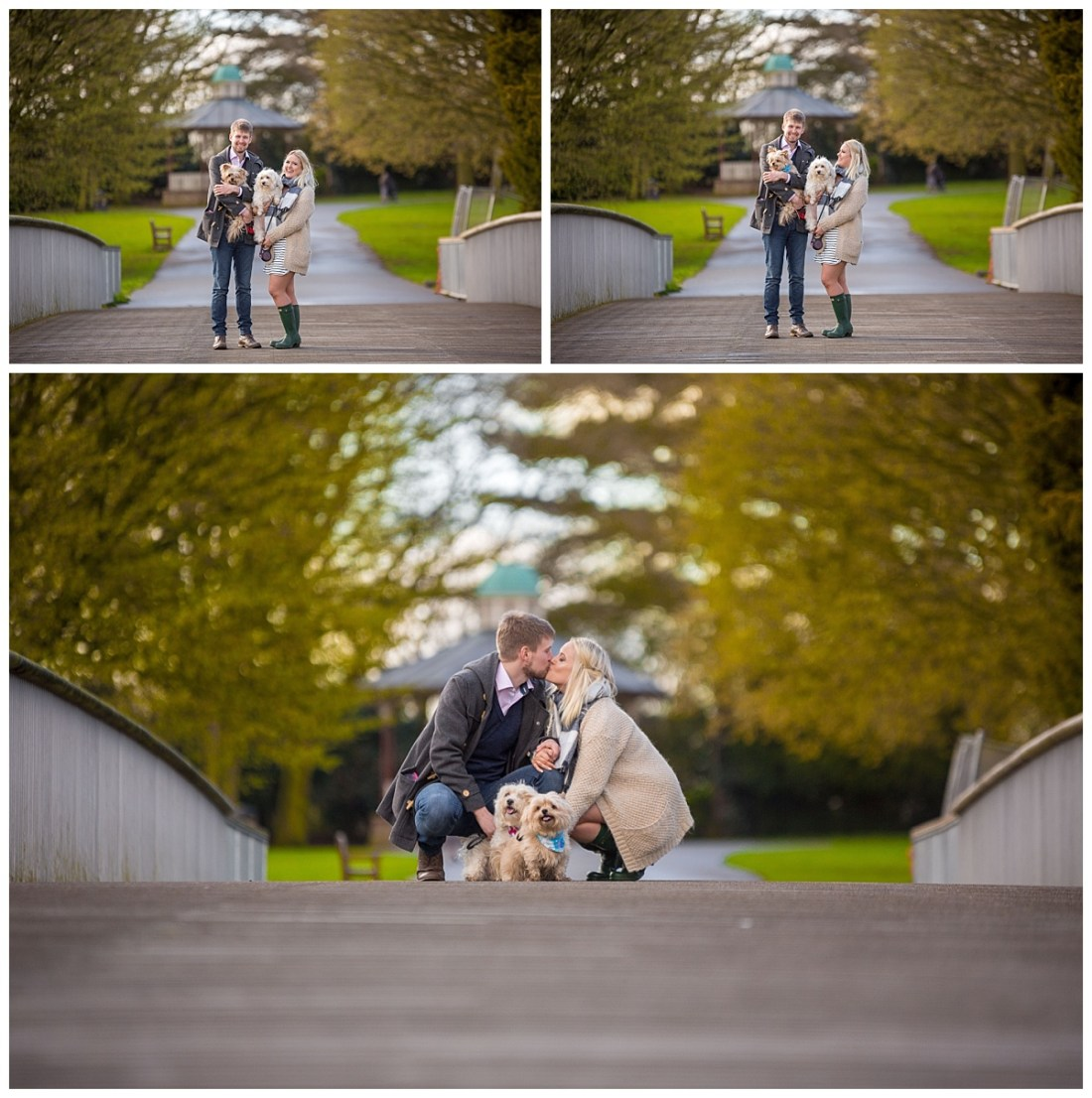 Engagement Shoot in a Park