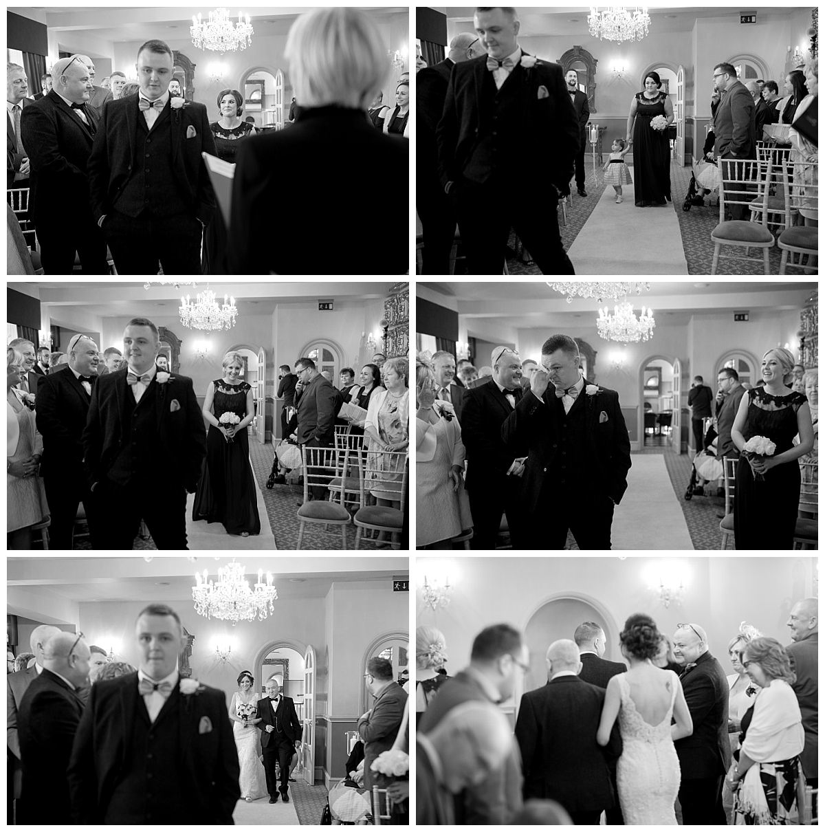 Wedding Ceremony at Weston Hall