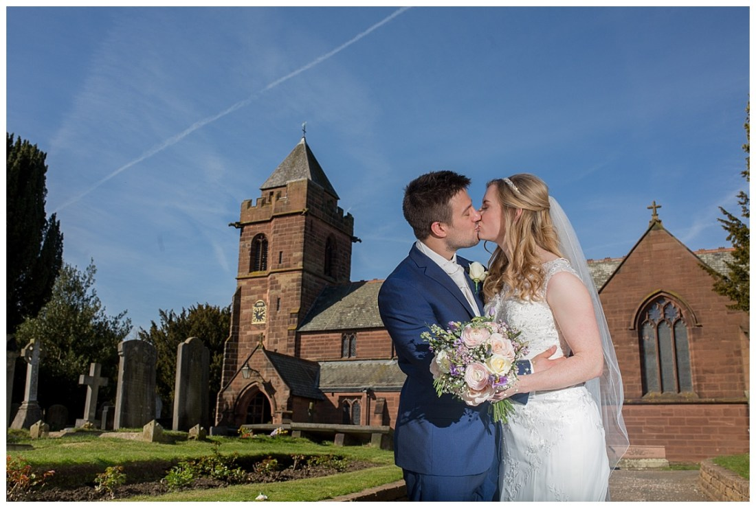 St James' Church, Christleton, Chester Wedding Photography