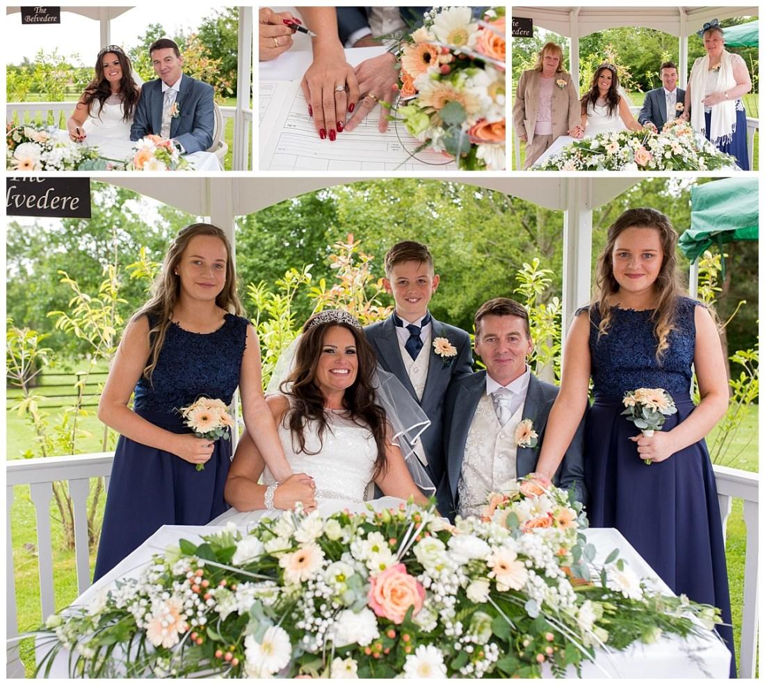 Outdoor Wedding Ceremony De Vere Cranage Estate
