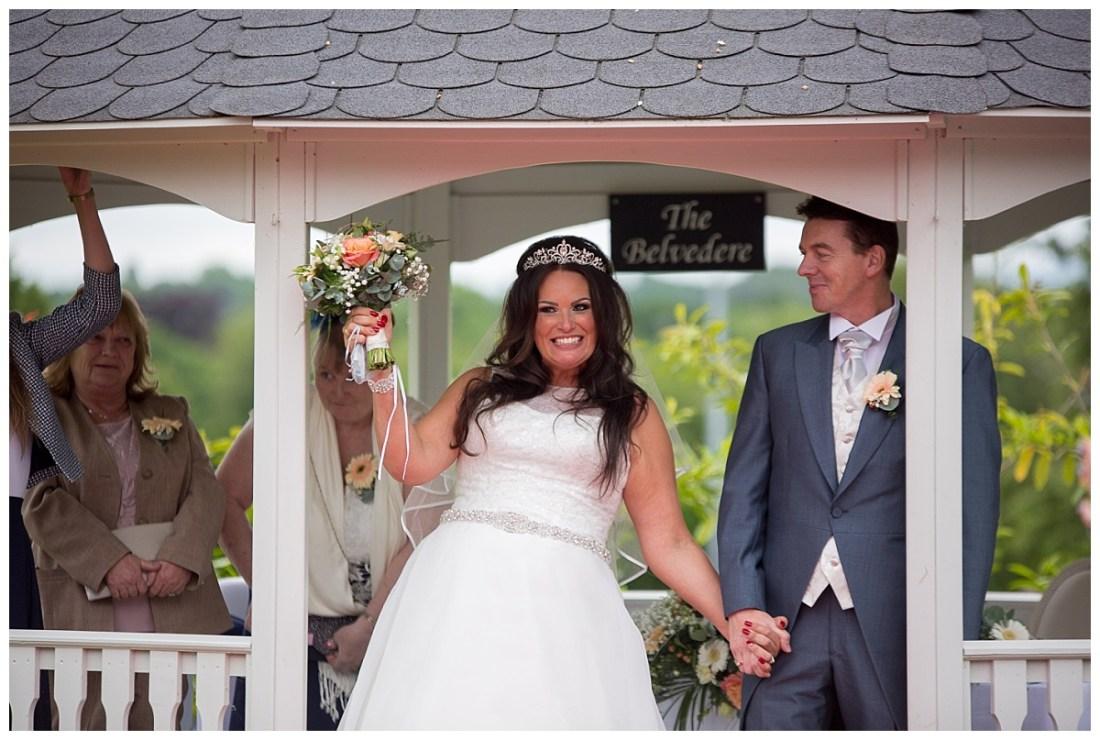 Cranage Hall Outdoor Wedding