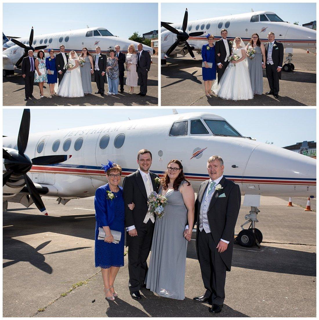 John Lennon Airport Wedding