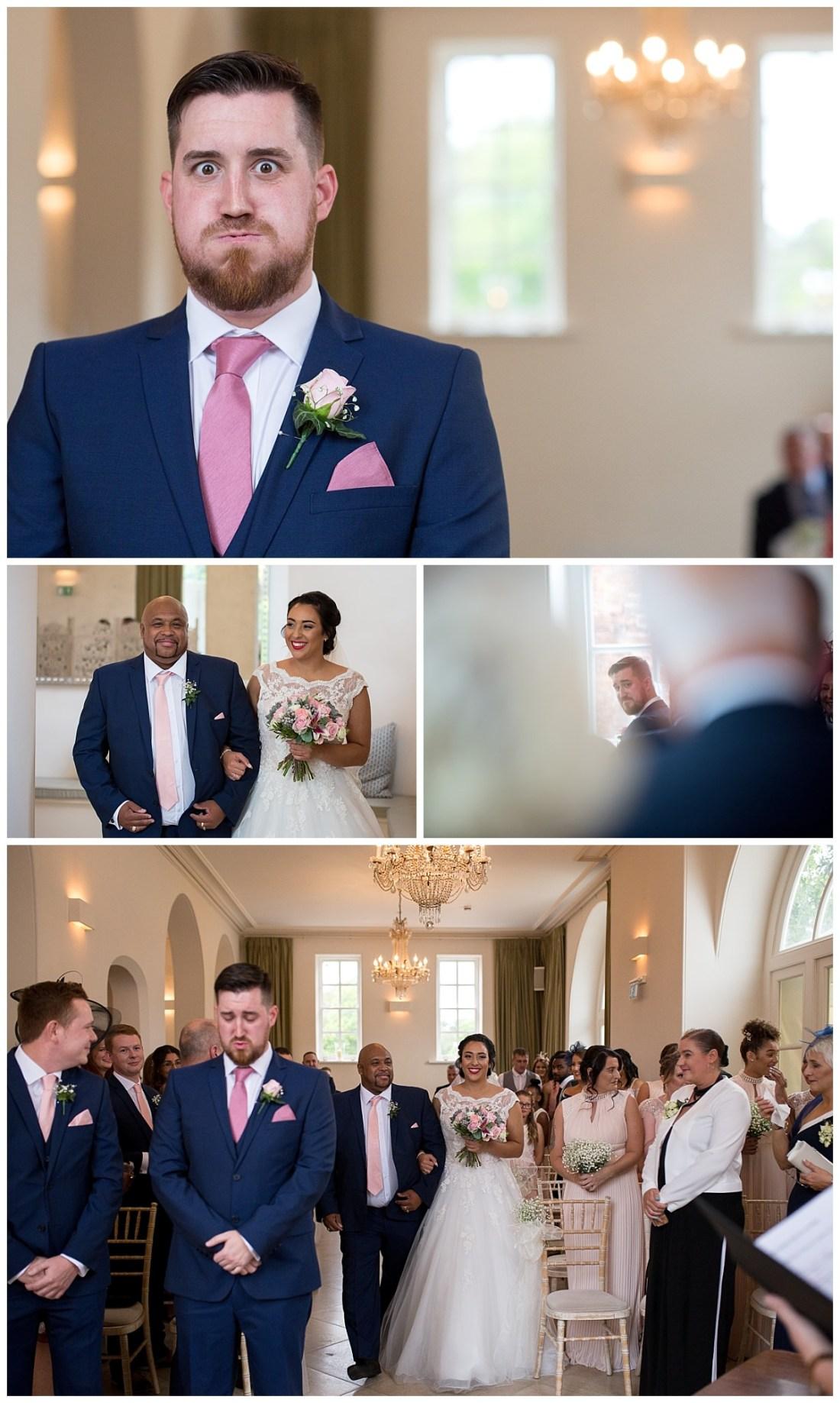 Wedding Ceremony at Iscoyd Park
