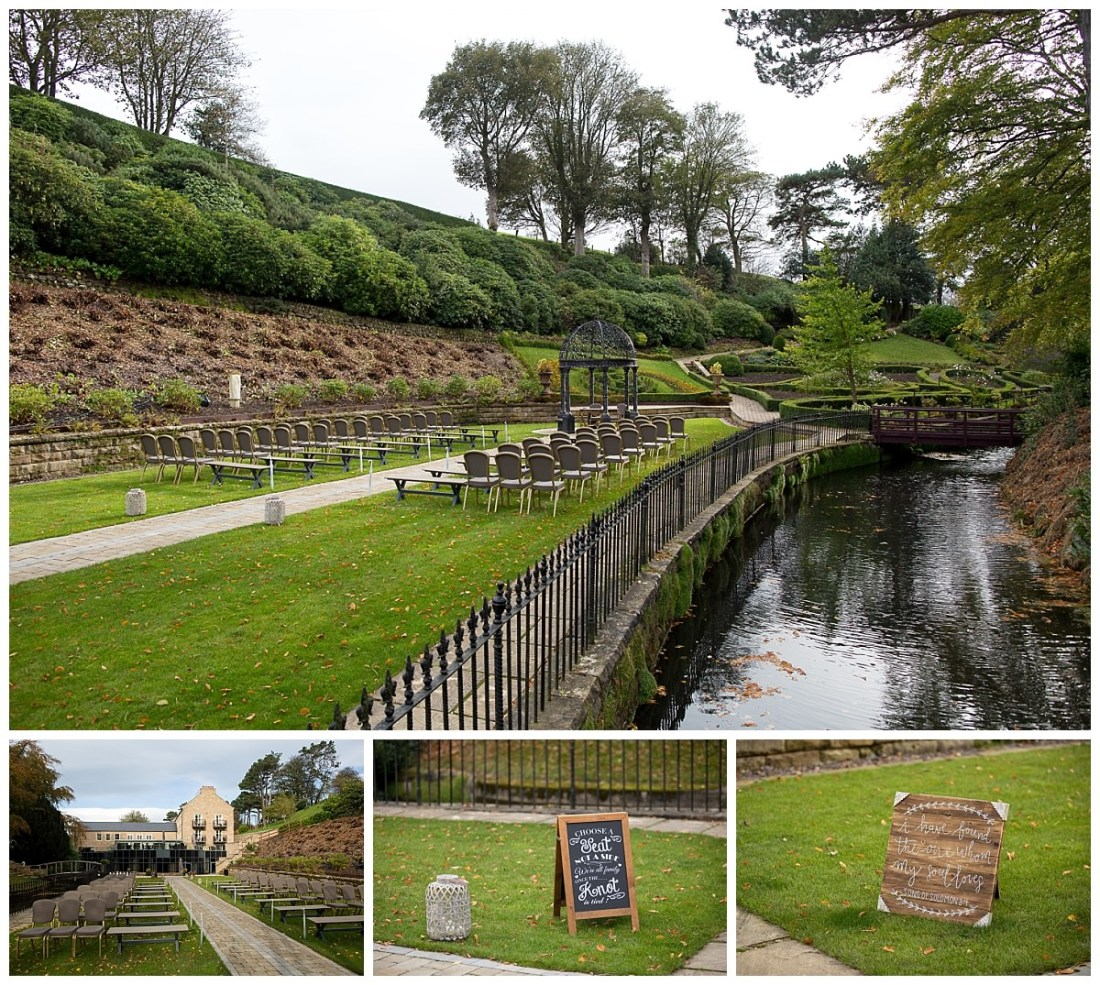 Raithwaite Estate Gardens Outdoor Wedding Venue