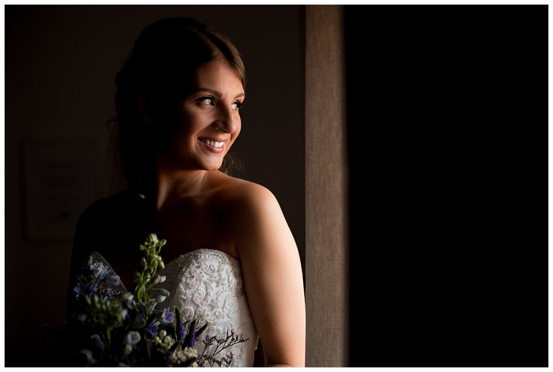 Bride at the Raithwaite Estate