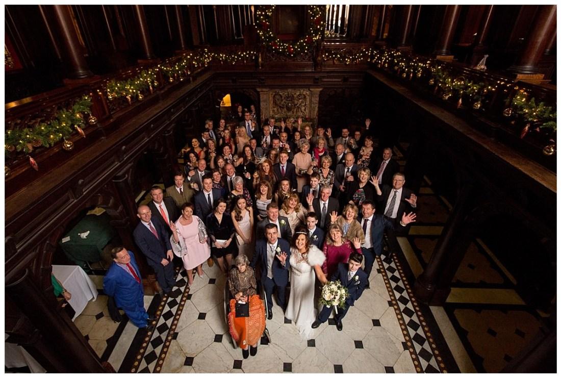 Hall of Pillars Crewe Hall