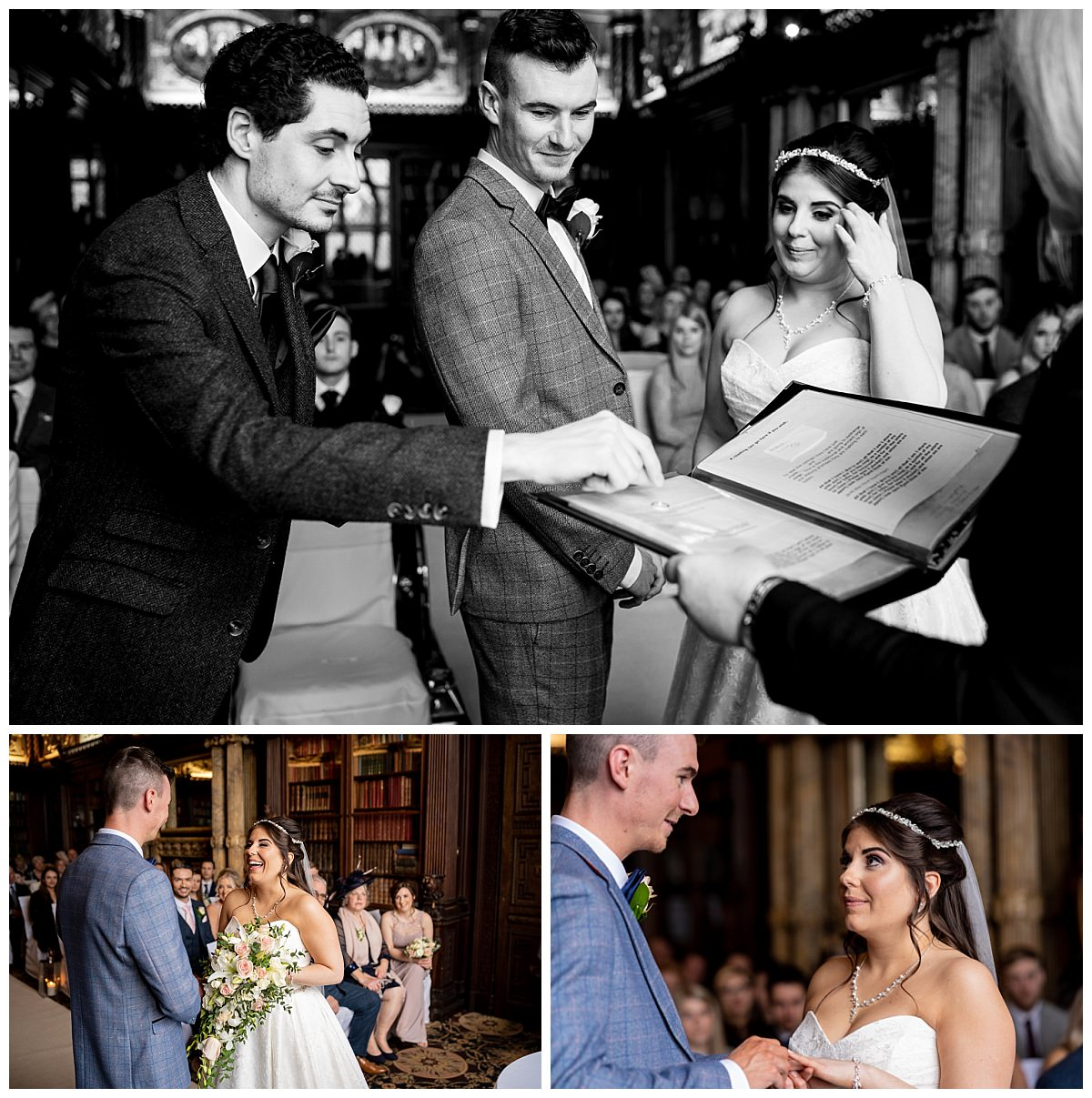 Crewe Hall Wedding Ceremony