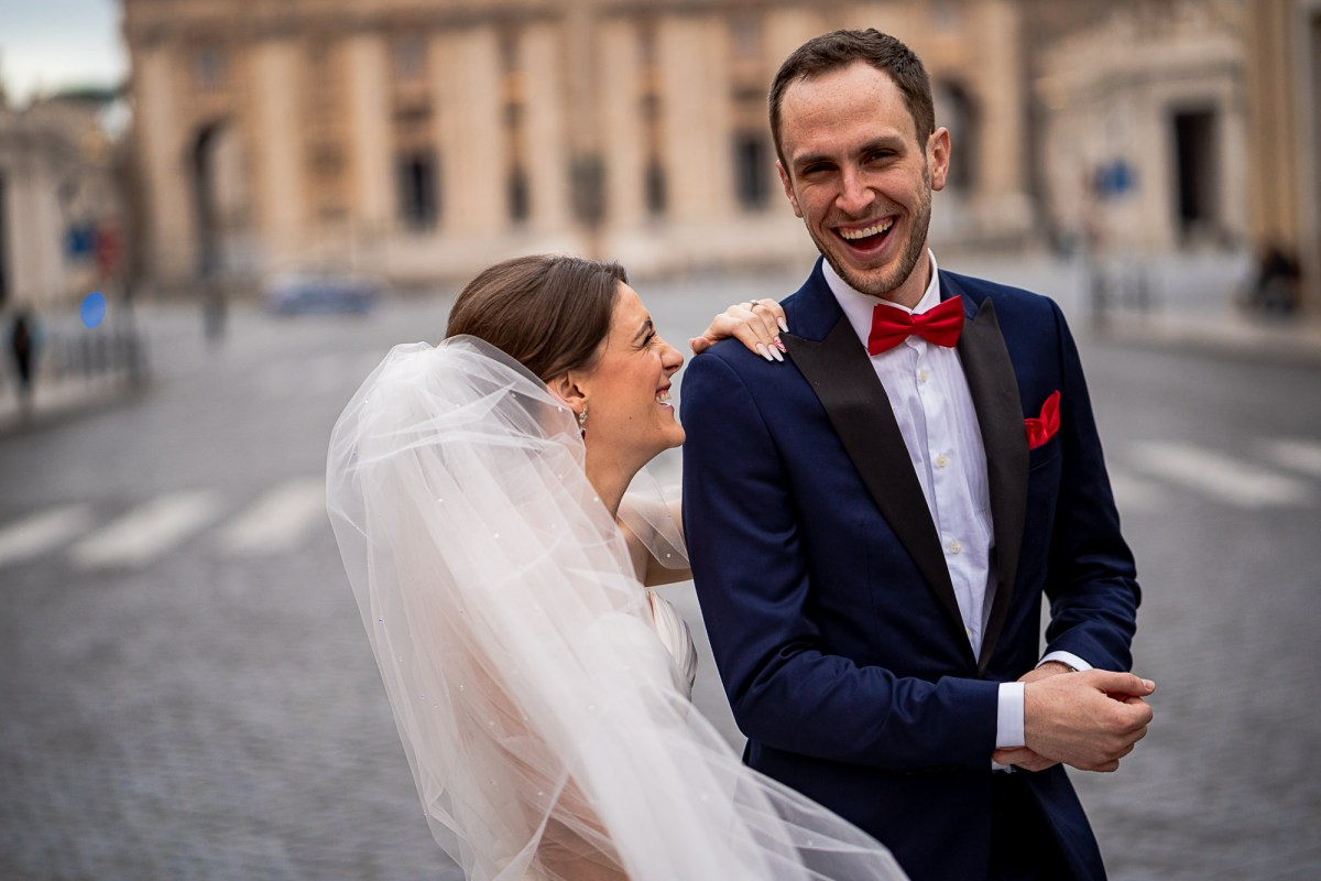 Vatican City Rome Wedding Photographer