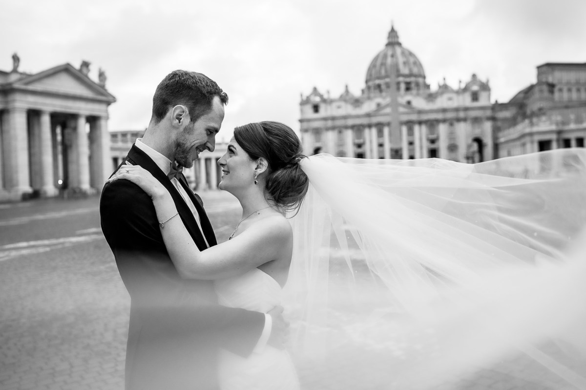 Vatican City Rome Wedding Photographer