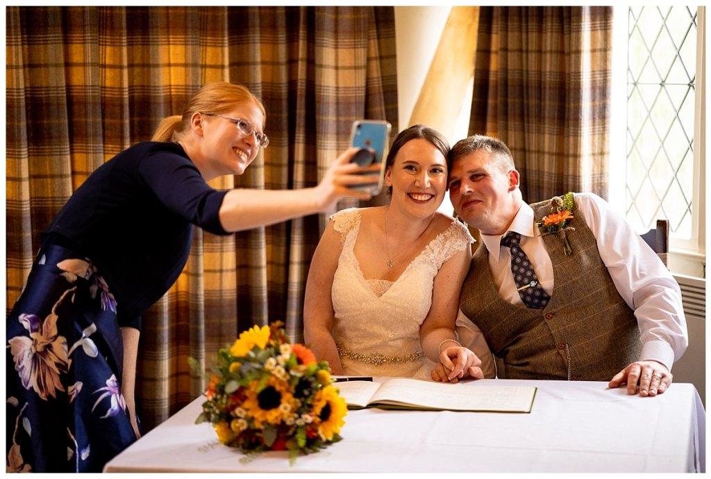 The Plough Inn Eaton Wedding