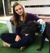 Rio, a terminally ill canine who survived Hurricane Sandy, was adopted by a San Diego family.